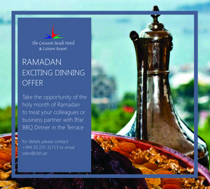 RAMADAN EXCITING DINNING  OFFER