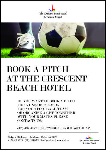 BOOK A PITCH AT THE CRESCENT  BEACH HOTEL